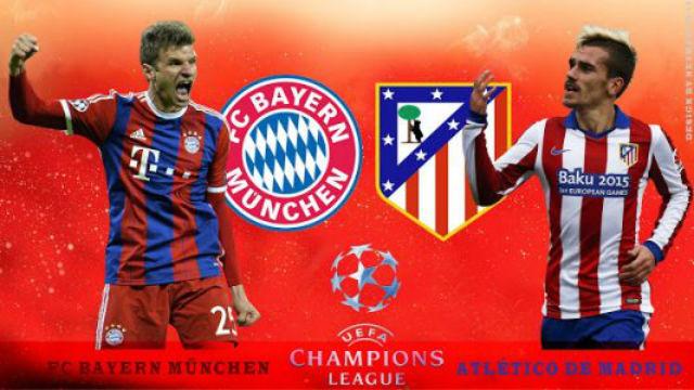 Bayern Munich - At. Madrid