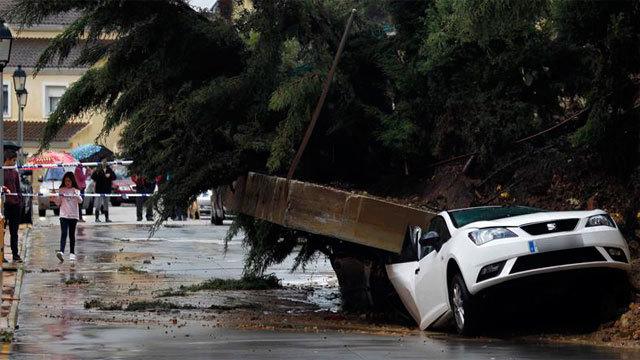 Inundaciones en Los Barrios (Cádiz)