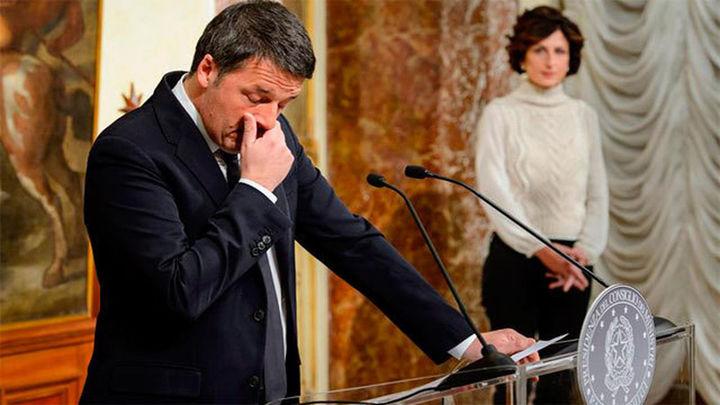 Renzi anuncia su dimisión tras ser derrotado en referéndum