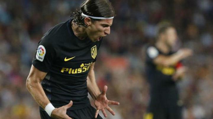 Filipe Luis sufre una lesión en el muslo izquierdo