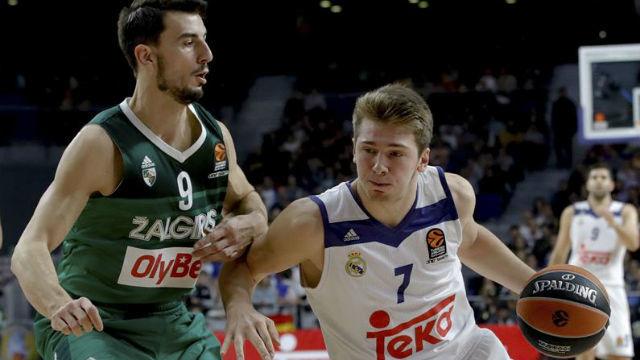 Luka Doncic ante el Zalgiris