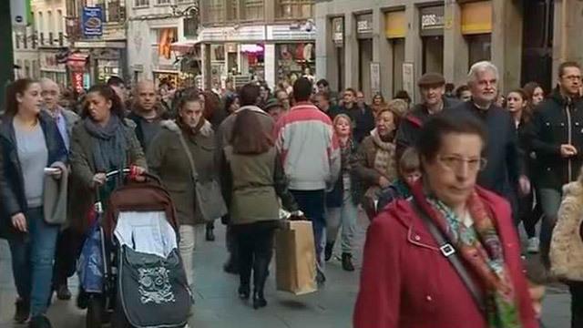 De compras en Madrid