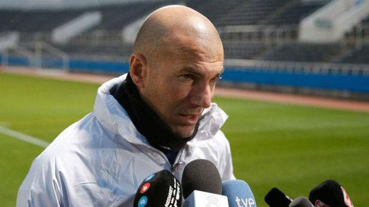 """Zidane: """"Llegamos bien al Mundial de Clubes y haremos todo para ganarlo"""""""