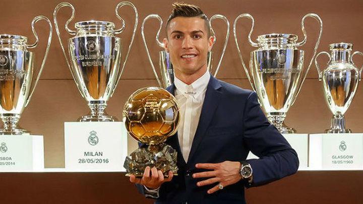 Cristiano gana su cuarto Balón de Oro