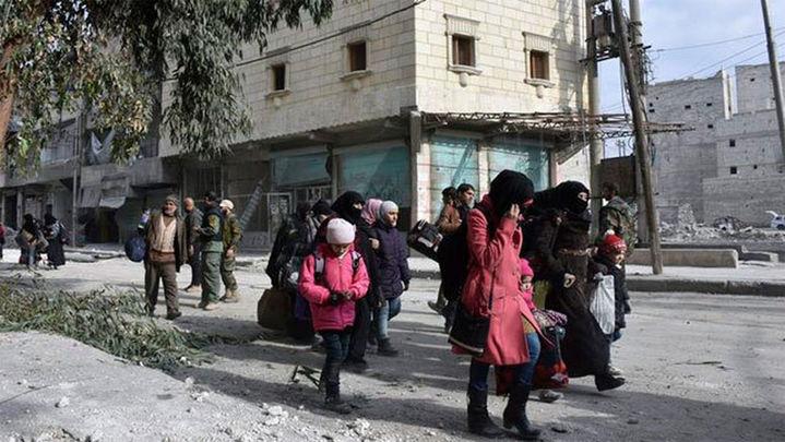 Rusia dice que hay acuerdo para la salida de combatientes rebeldes de Alepo