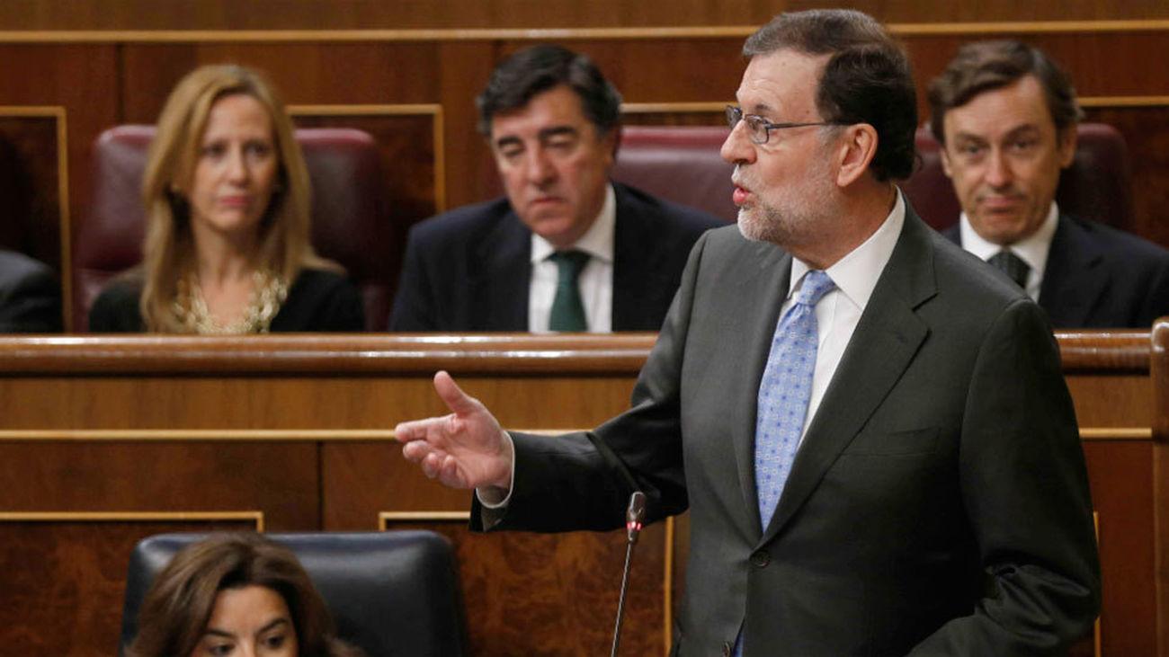 """Rajoy al PSOE: """"Decir que en España hay problema para manifestarse es una broma"""""""
