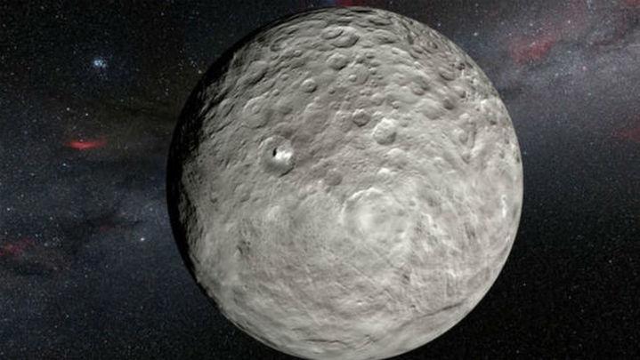 La composición de Ceres es distinta de su capa superficial
