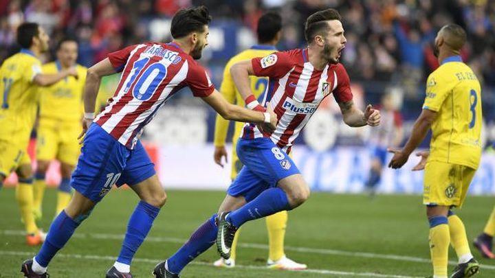 1-0. Saúl acaba con las dudas en el Atlético
