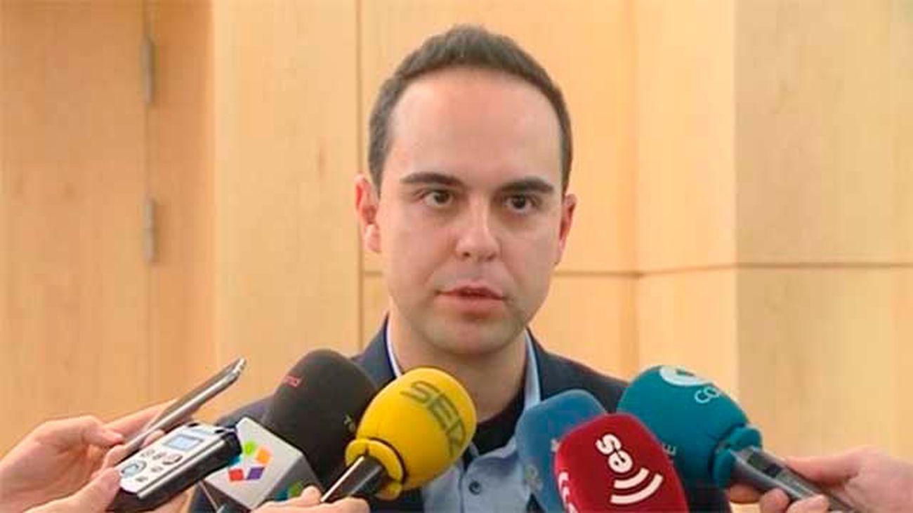 El delegado de Desarrollo Urbano Sostenible del Ayuntamiento de  Madrid, José Manuel Calvo