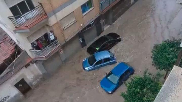 El temporal causa otra muerte en Murcia y persiste este martes en Cataluña y Baleares