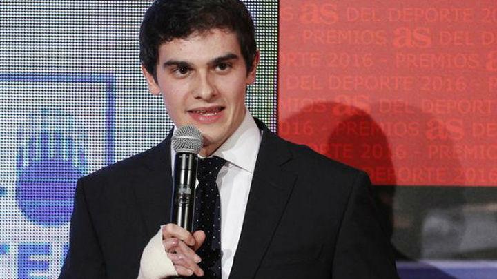 "Bruno Hortelano: ""Mi mano va cada vez mejor, dolor cero"""