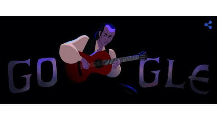 Google homenajea a Paco de Lucía en el 69 aniversario de su nacimiento