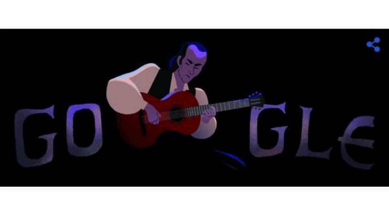 Google homenajea a Paco de Lucía