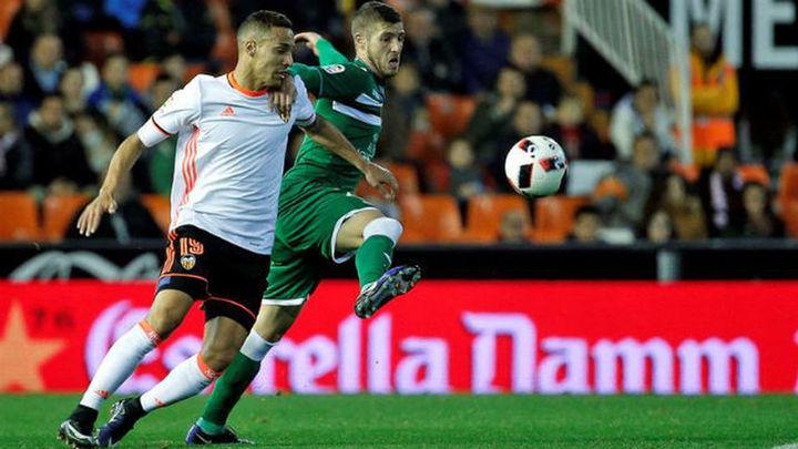 2-1. El Leganés se despide de la Copa con la cabeza alta