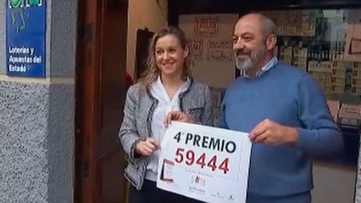 """Madrid acapara los cuartos y quintos premios, además de """"El Gordo"""""""