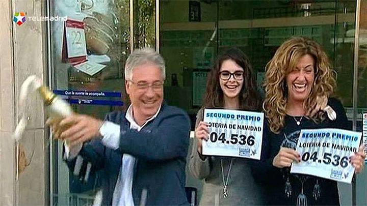 El segundo premio, 4.536, repartido entre 215 localidades españolas