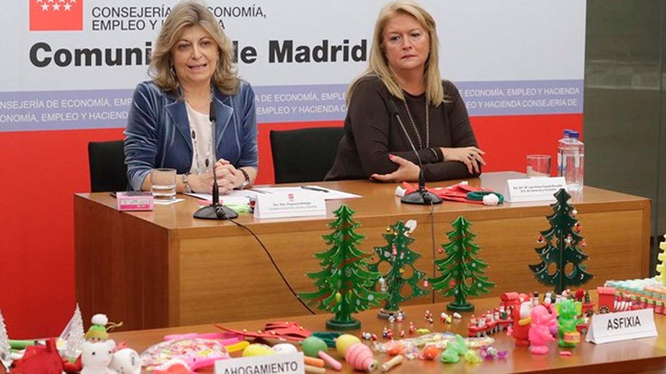 Retirados más de 36.700 productos peligrosos o inseguros este año en Madrid