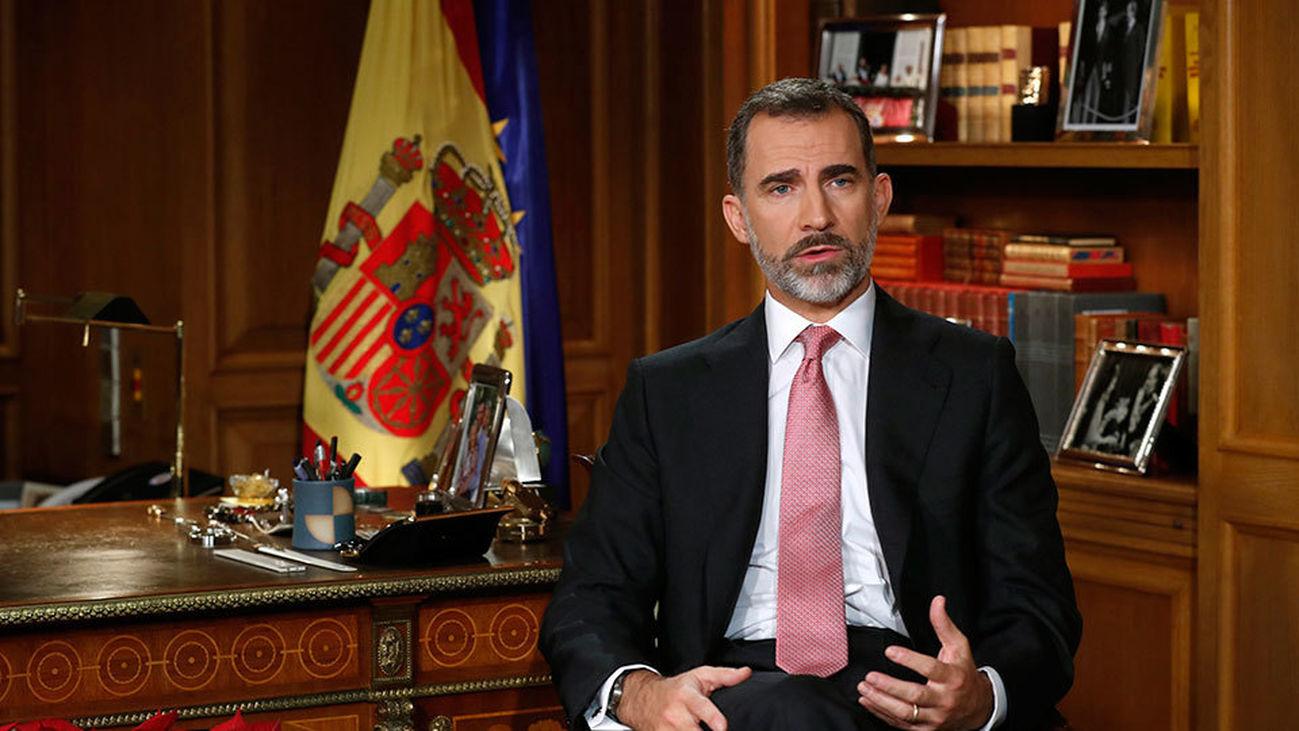 Discurso íntegro de Su Majestad El Rey Felipe VI