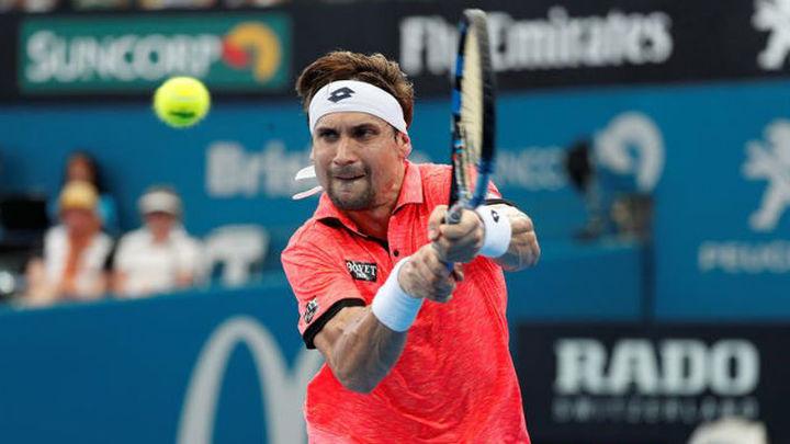 Ferrer se despide en segunda ronda de Brisbane