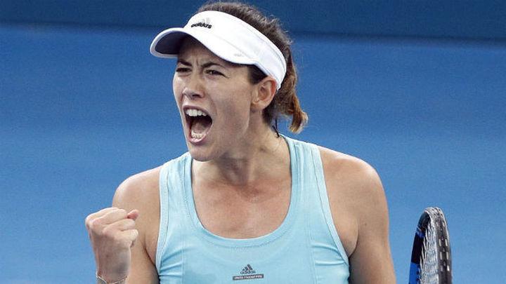 Muguruza, semifinalista en Brisbane tras imponerse a Kuznetsova