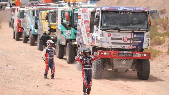 Suspendida la sexta etapa del Dakar por las condiciones metereológicas