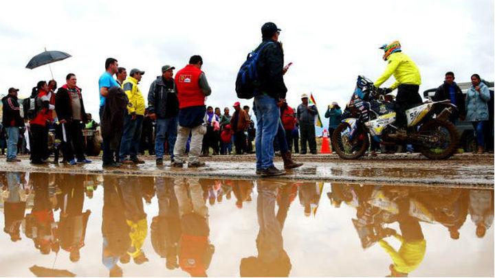 Acortan la séptima etapa del Dakar por la lluvia
