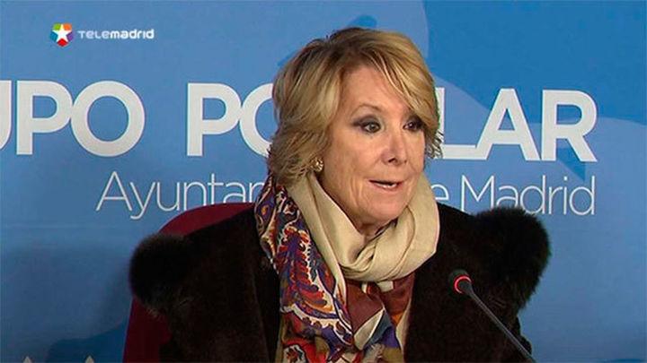 Aguirre propone un túnel subterráneo que una Cibeles con Plaza de España
