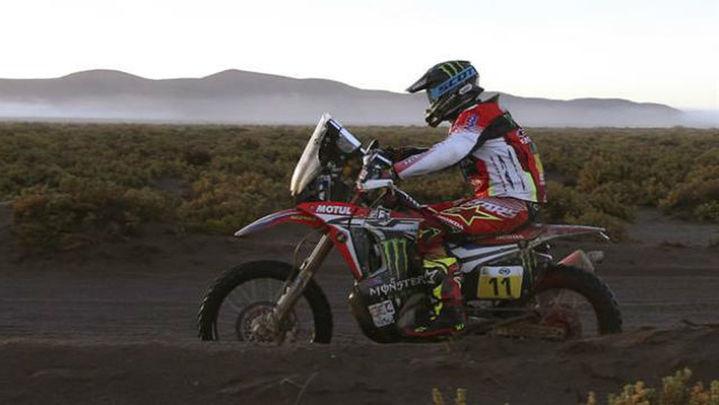 Dakar: Barreda gana en motos; etapa y liderato para Loeb en coches