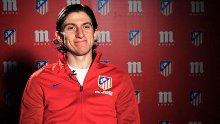 """Filipe Luis: """"Lo normal es que volvamos a la solidez defensiva"""""""