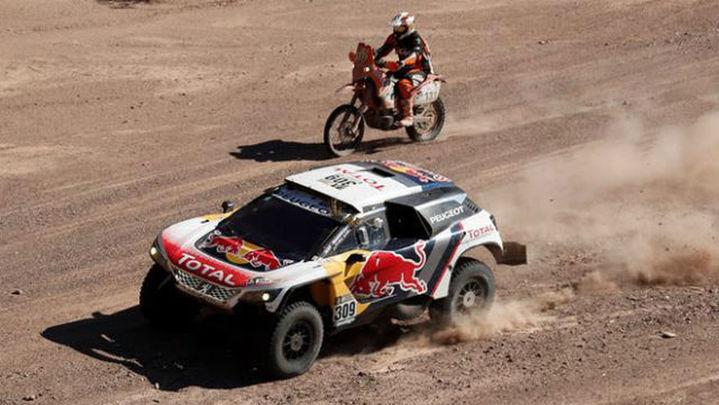 Dakar: Loeb gana la 10ª etapa y sigue líder