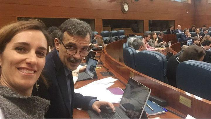 José Manuel López, de portavoz al 'gallinero' de la Asamblea de Madrid