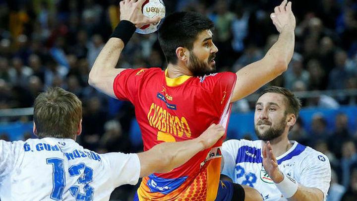 27-21. España debuta en el Mundial con victoria ante Islandia