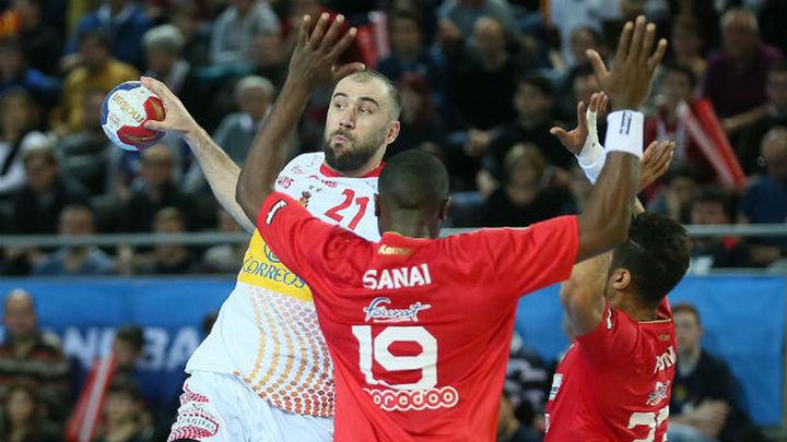 21-26. Los 'Hispanos' no perdonan la segunda victoria ante Túnez