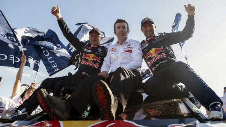 'Monsieur' Peterhansel y Sunderland, conquistan el Dakar