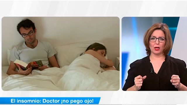 Doctor ¡no pego ojo!