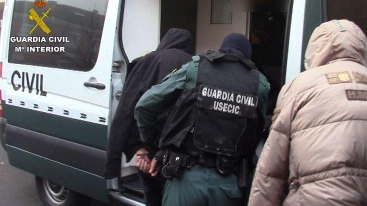 Cae la mayor red internacional de tráfico de angulas a China con 17 detenidos