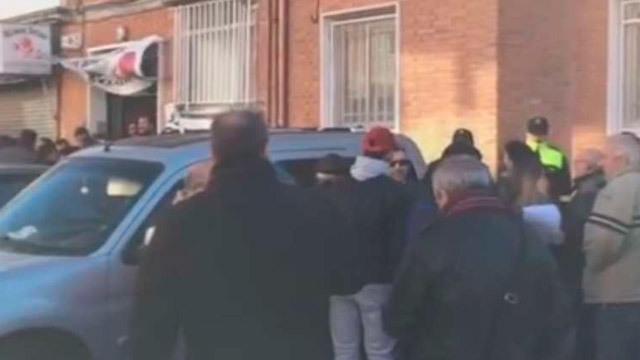 Dos detenidos en la protesta del desahucio de una familia en Alcalá