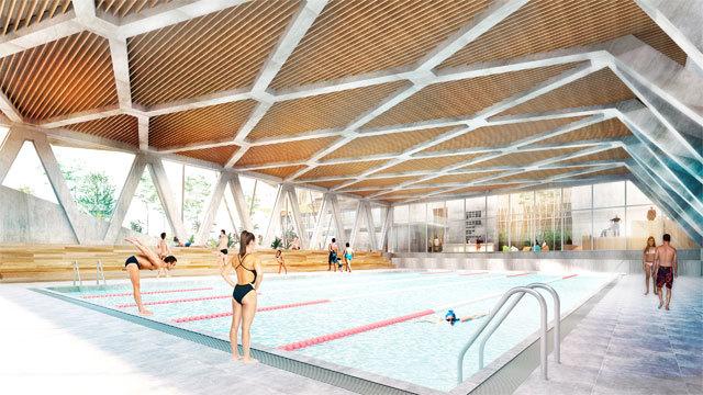 Proyecto de piscina para La Cebada