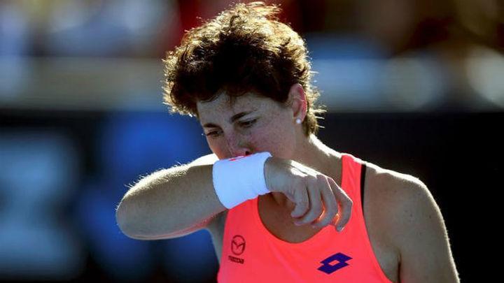 Open Australia: Carla Suárez dice adiós