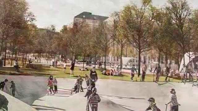 Proyecto para plaza de España