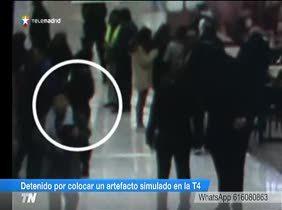 Detenido por simular una bomba en el aeropuerto de Barajas Madrid