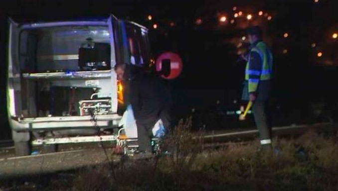 Fallece un conductor de 45 años al volcar su vehículo en la A-1 de Madrid