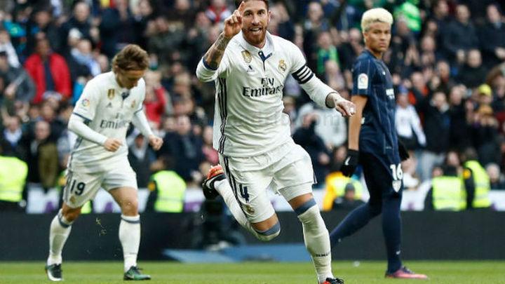 2-1. Ramos da el campeonato de invierno a un Real Madrid sin confianza