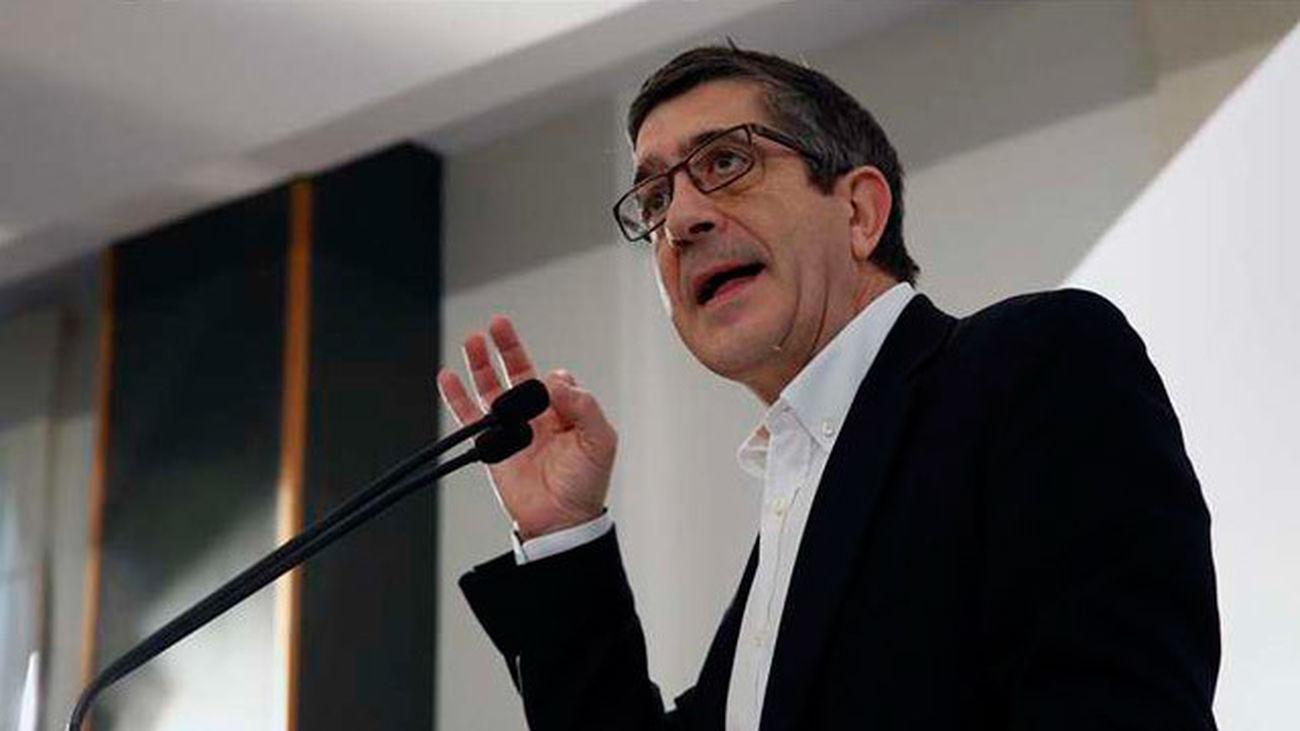"""Patxi López apela a no convertir las primarias en """"una batalla fratricida"""""""