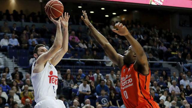 Rudy Fernandez ante el Valencia Basket