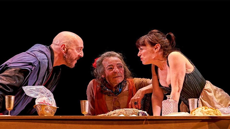 La Celestina, de Fernando de Rojas, en el Teatro de la Abadía (2017)