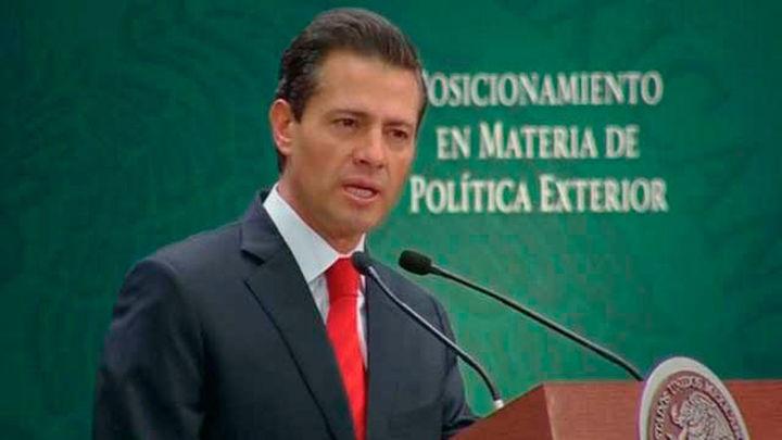 Peña Nieto pide preservar el libre comercio entre México, EE.UU. y Canadá