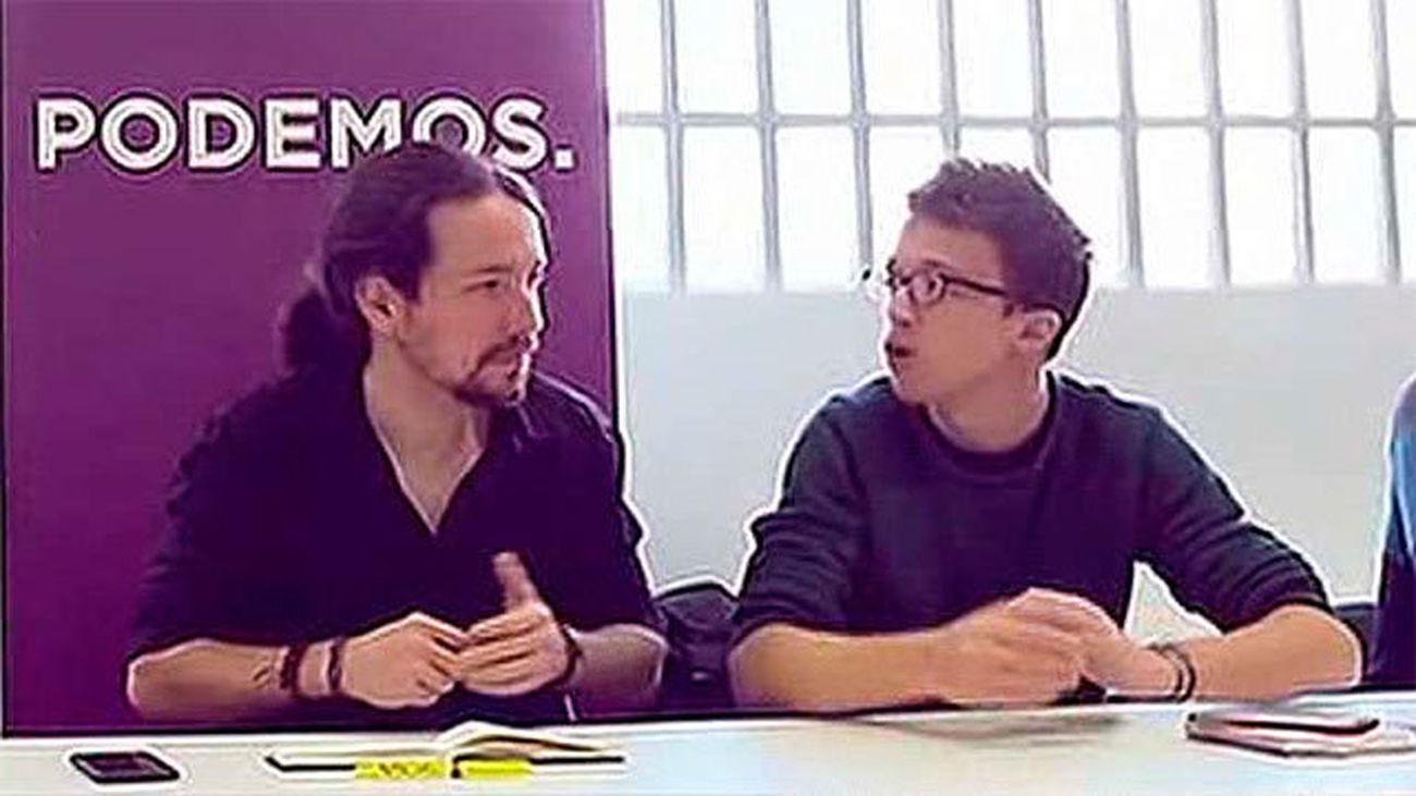 Iglesias y Errejón imponen límites a la fusión con IU