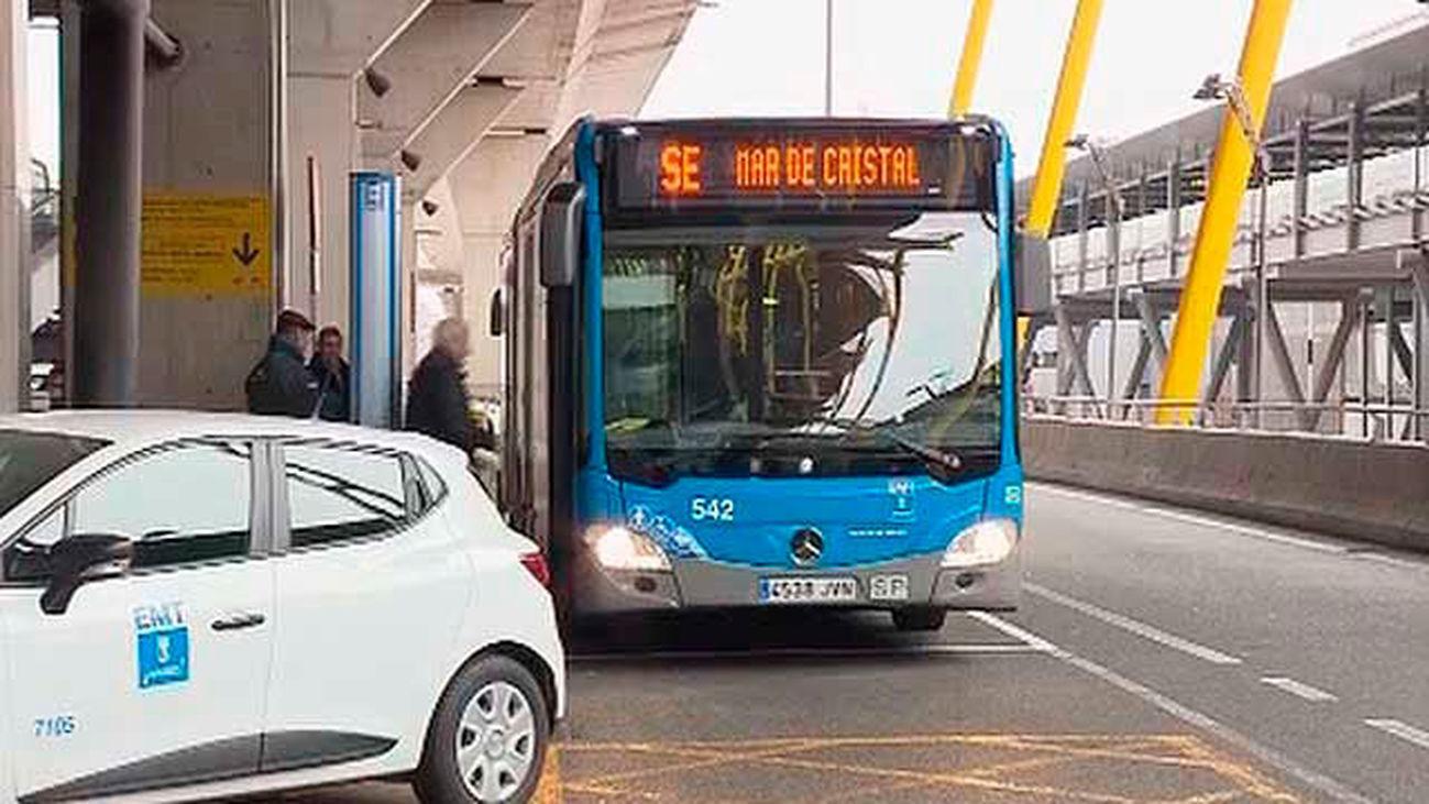 Servicio de la EMT por el cierre de la linea 8 de Metro
