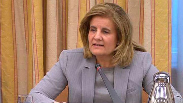 Báñez defiende el índice de subida de pensiones porque consolida el sistema